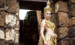 งดงามดั่งนางในวรรณคดี ชุดประจำชาติ ฝ้าย สุภาพร Miss Grand Thailand 2016