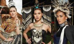 10 สาวงามสวยพุ่ง คะแนนโหวตสูงสุด บนเวที Miss Universe Thailand 2017