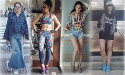แฟชั่นรองเท้า adidas ของ ชมพู่ อารยา ไอคอนของสาวยุคนี้
