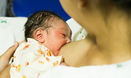 เลี้ยงลูกด้วยนมแม่อย่างเดียว 6 เดือนดีที่สุด