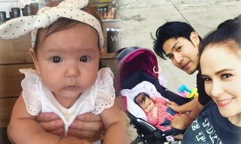 3 เดือนแล้ว! น้องริชา ลูกแอน-ภูริ จมูกโด่ง ตาแบ๊ว น่าฟัดมาก