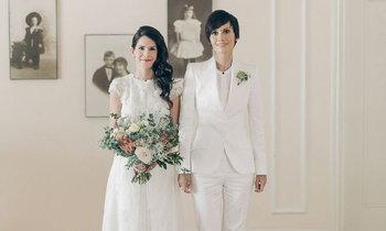 แฟชั่นชุดแต่งงานของคู่รัก LGBT