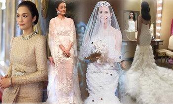 2 ชุดแต่งงาน ครีม-อีฟ ลูกต้อย เศรษฐา อลังการ เลอค่า ขนาดไหน มาดูกัน