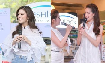 "FreshLook : Fresh Up Your Look "" เผยประกายตาสีสวยในแบบของคุณ """