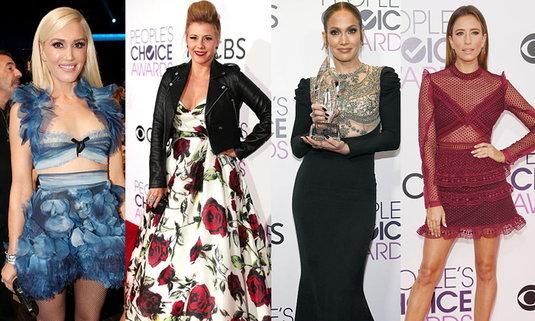 สดๆ ร้อนๆ แฟชั่นงาน People's Choice Awards 2017 ใครพลาด ใครพัง ซูม!