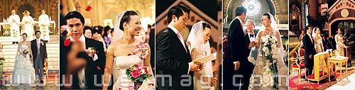 งานแต่งงาน, งานแต่งงานชาวคริสต์