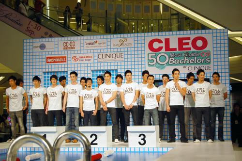 เปิดตัว 50 หนุ่ม CLEO หนุ่มโสดในฝันปี 2009
