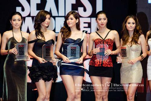 ชมพู่ อารยา ผู้หญิงเซ็กซี่ที่สุดในเมืองไทย ปี 2010