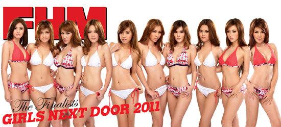 FHM เผยโฉม 10 สาวข้างบ้านสุดเซ็กซี่ FHM GIRLS NEXT DOOR 2011