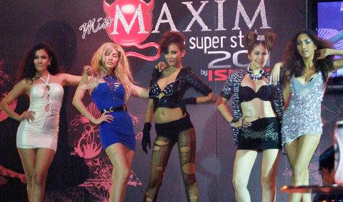 Miss maxim 2011 เวทีประชันเต้าของสาวมั่นแห่งปี