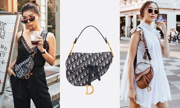 Dior Saddle Bag กระเป๋าทรงวินเทจที่กลับมาฮิตอีกครั้ง