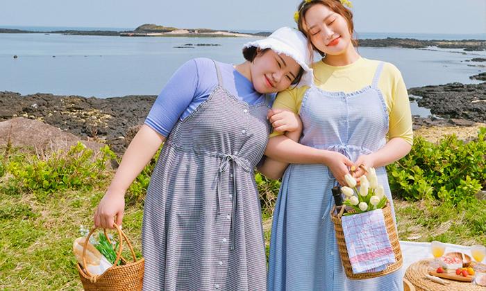 พาส่องสไตล์คิ้วท์ๆ ของสาวเกาหลีหุ่นพลัสไซส์น่ากอด