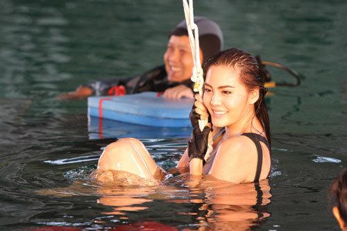 พิลาทิสใต้น้ำครั้งแรกของ เจนี่ เทียนโพธิ์สุวรรณ