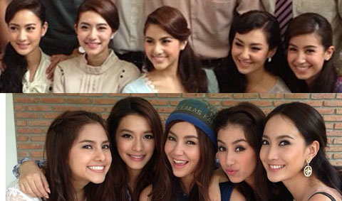 5 สาวสวยจาก สุภาพบุรุษจุฑาเทพ