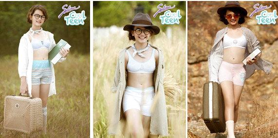 ซาบีน่า คูล ทีน แนะนำชุดชั้นในคอลเลคชั่นใหม่ อีโค่ เฟรนด์ลี่ - Eco Friendly