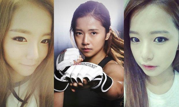 กายอน นักมวยหน้าสวยจากประเทศเกาหลี