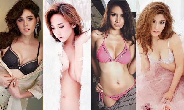 10 ผู้หญิงหน้าอกสวยได้รูปจนตะลึง