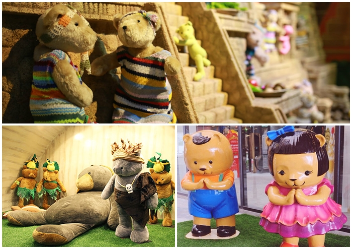 สถานที่ชิคๆ ที่ฮิตในหมู่คนรักตุ๊กตาหมี