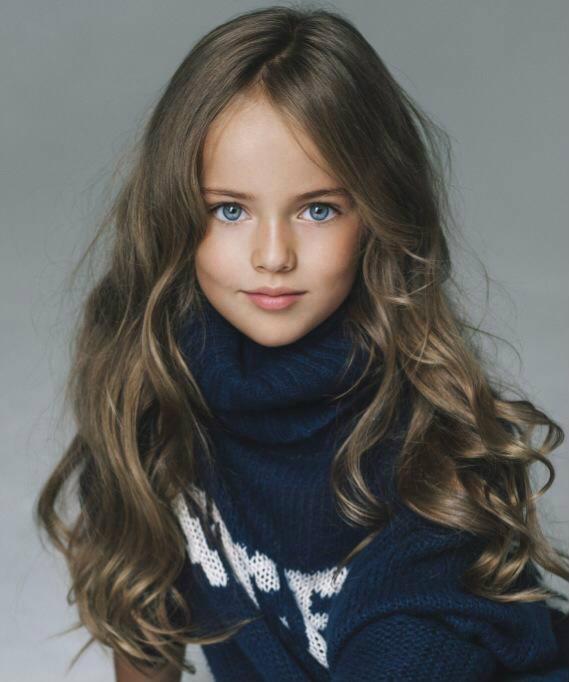 'Kristina Pimenova' ถูกยกย่องให้เป็นเด็กหญิงสวยที่สุดในโลก