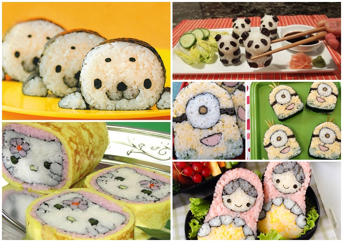 รวม ซูชิ (Sushi) สุดครีเอท