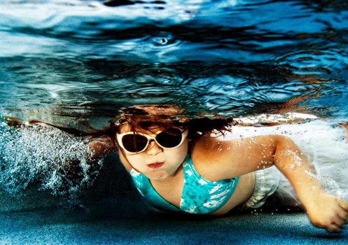 ความสดใสใต้น้ำ ของเด็กๆ