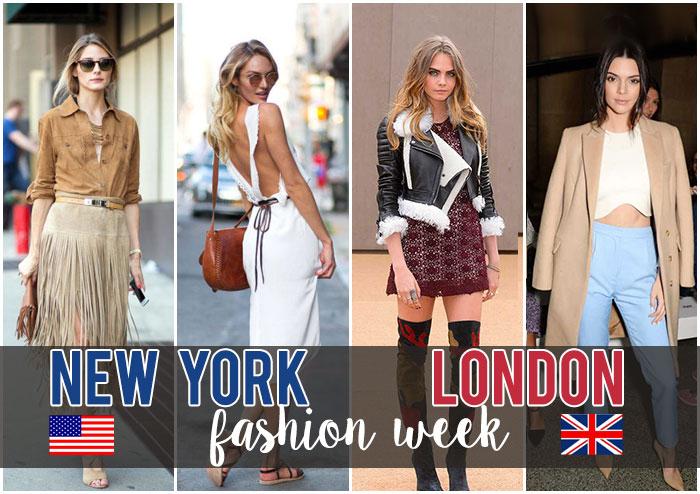 จัดเต็มกันทุกนาง! ใน New York และ London Fashion Week A/W 2015