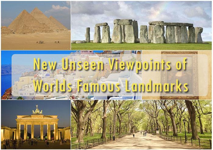 """""""Very Unseen! ภาพมุมมองใหม่ของสถานที่ดังระดับโลกที่คุณต้องดู"""""""