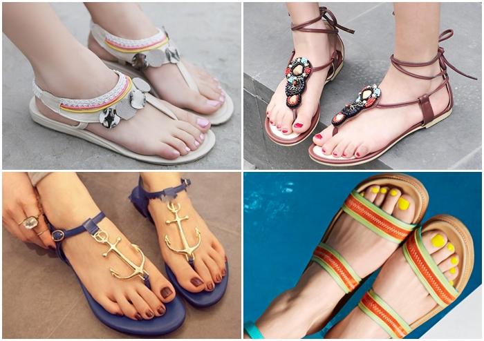 น่ารักน่าใส่! 10 รองเท้าแตะสบายเท้าสำหรับหน้าร้อนที่สาวๆต้องมี