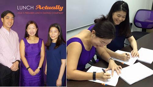 MeetNLunch บริษัทจัดหาคู่อับดับหนึ่งในไทย ร่วมกับ Lunch Actually Group