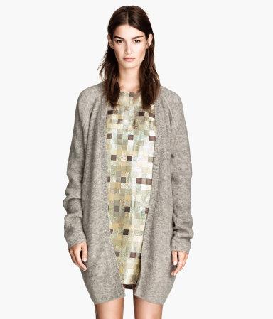 เสื้อคลุมแฟชั่นคาร์ดิแกน ของ H&M