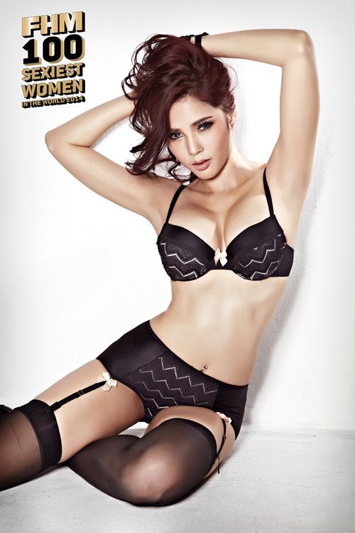 ปู ไปรยา คว้า ผู้หญิงเซ็กซี่ที่สุดแห่งปี 2014 FHM เมืองไทย