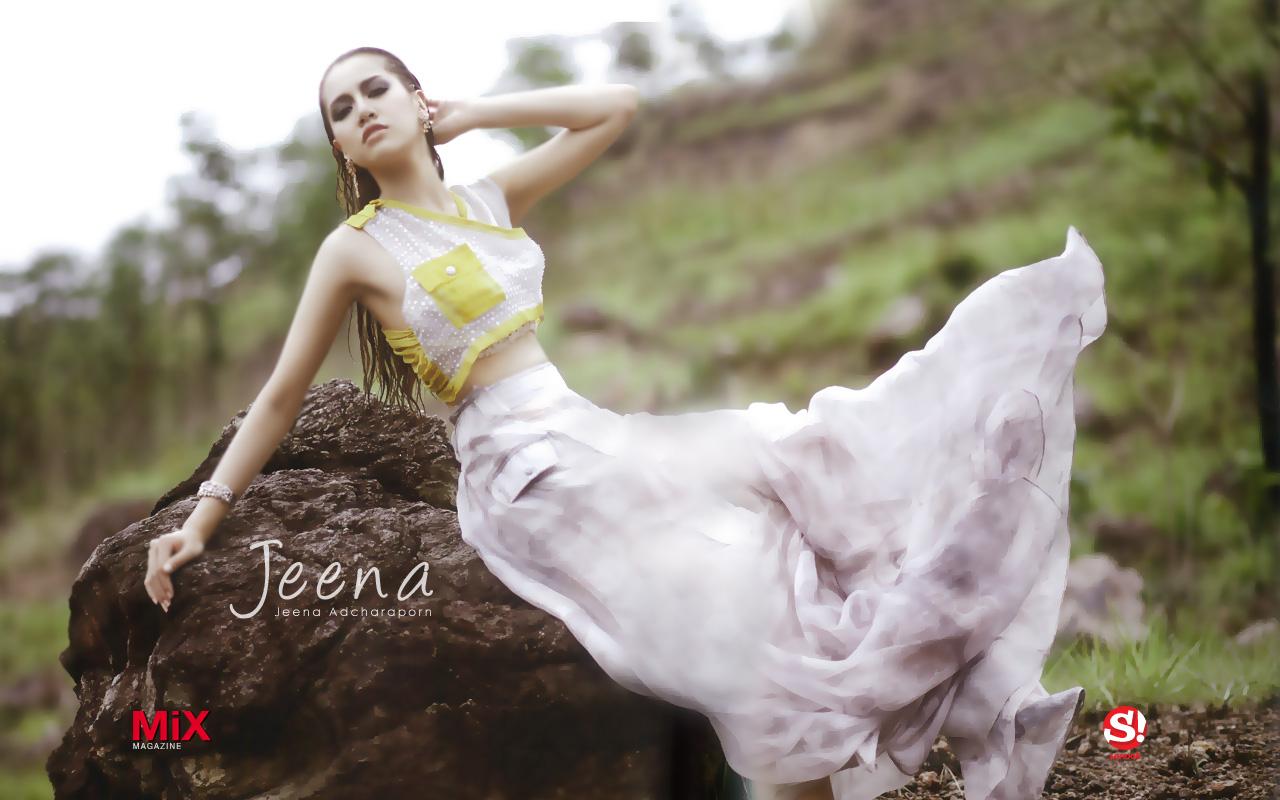 Jeena Adcharaporn Wallpaper : Jeena