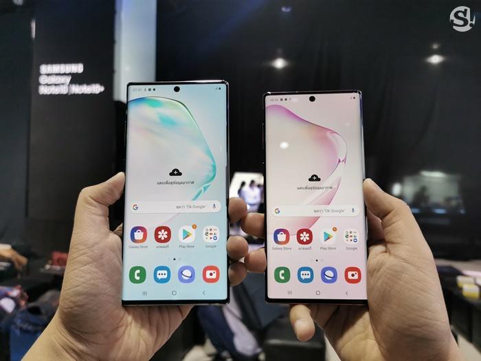 ภาพเครื่องจริง Samsung Galaxy Note 10