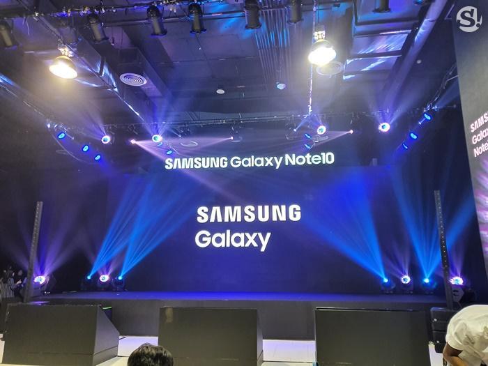 ตัวอย่างภาพถ่ายของ Samsung Galaxy Note 10