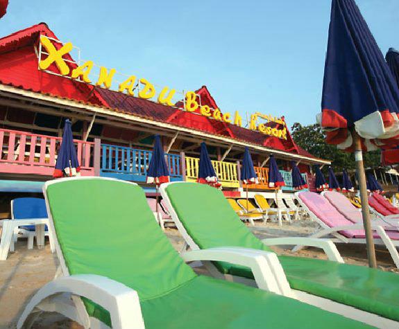ซานาด บ ช ร สอร ท เกาะล าน Xanadu Beach Resort Koh Lan พ กเกาะล ชลบ กสวย ๆ บนเกาะล ห องพ กเก สไตล บราซ ล ให บร การถ ง 80 อง
