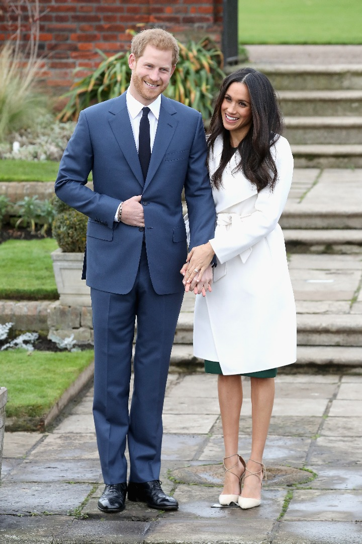 เจ้าชายแฮร์รี แห่งราชวงศ์อังกฤษ และ เมแกน มาร์เคิล พระคู่หมั้น