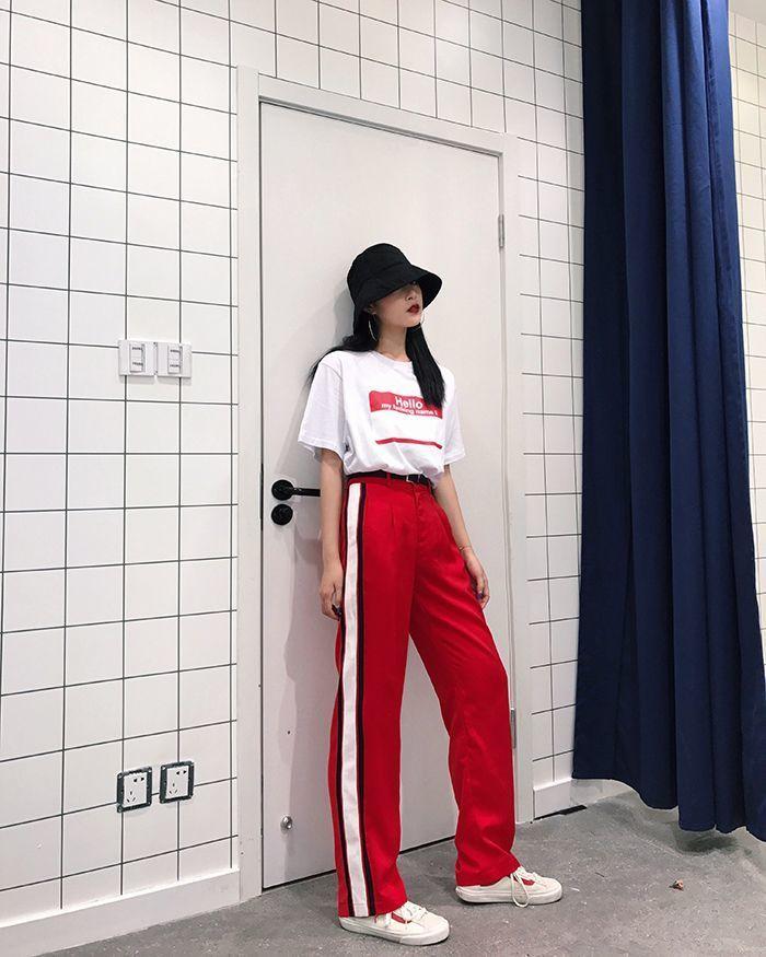 25 สไตล์เเมทช์เสื้อยืดโอเวอร์ไซส์เหมือนสาวเกา